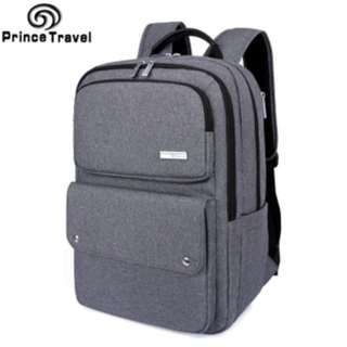 PRINCE TRAVEL canvas computer backpack #68611