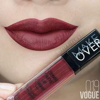 Make Over Intense Matte Lipcream shade 019.Vogue