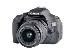 Kredit Kamera DSLR Canon Eos 600D kit 18-55 mm ready PS4 Laptop HP