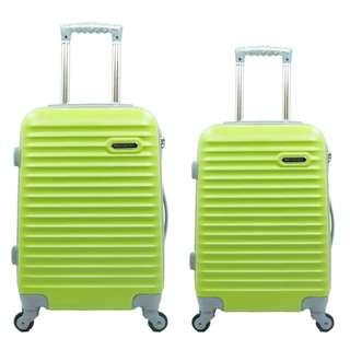 Tas Koper Hoby - Fiber ABS 1 Set Size 20 & 24 Inch 905 Green