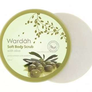 Wardah body scrub NEW