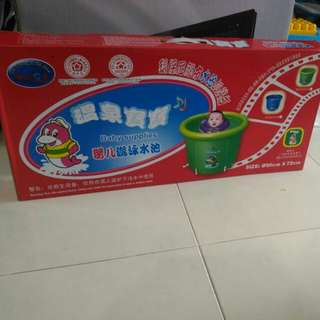 BNIB Baby Pool blue