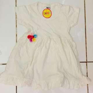 Shirco dresses white