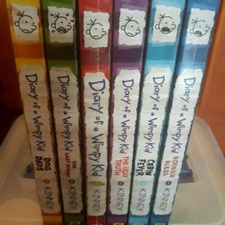 Diary of a Wimpy Kid Box of Books by Jeff Kinney