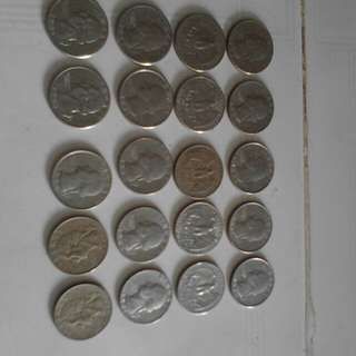 50,keping United states of american coin,,