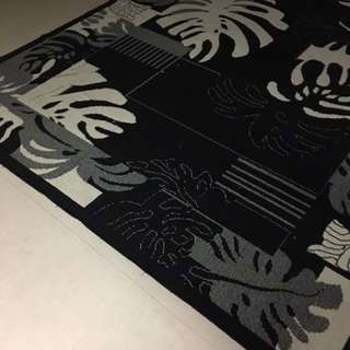 Black & white Floral Carpet #furniture50