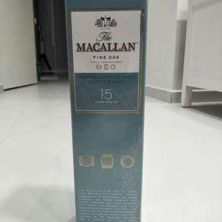 Macallan 15years