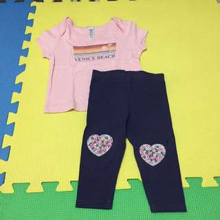 Baby Clothes - Leggings and Top set