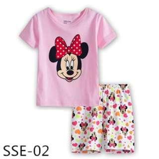 INSTOCK Minnie mouse tee set