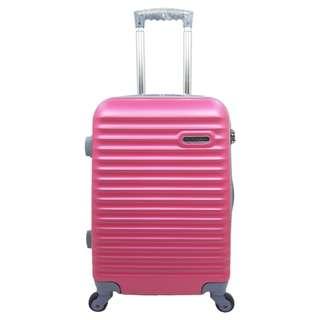 Tas Koper Hoby - Fiber ABS Kabin Size 20 Inch 905 Pink