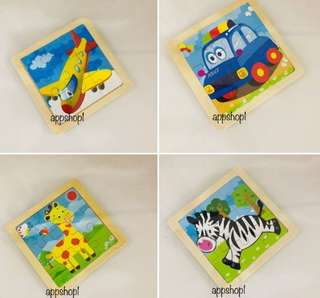 Wooden puzzle- practical goody bag, goodies bag gift for children