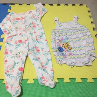Baby Clothes - Onesie Set (Carters) 6-9mos