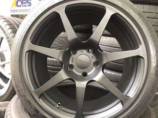 "Used 18"" prodrive rim and tyres for bmw"