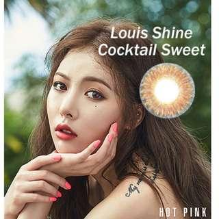 LensMe Louis Shine Cocktail in Sweet Brown
