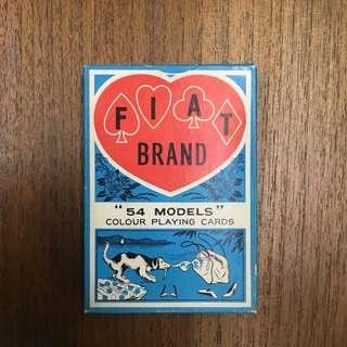60年代裸女啤牌香港製造nude playing card