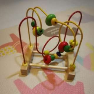 Wooden Beads Fine Motor Skill Toy