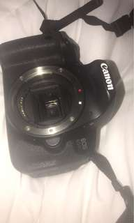 Canon 650D camera + accessories