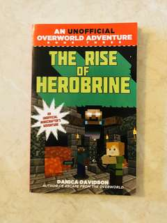 Minecraft Unofficial Minecrafter Adventure - Rise of Herobrine Novel