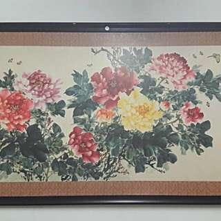 China art (富貴花开)
