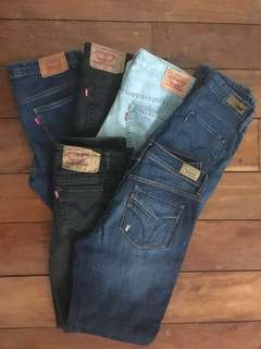 Assorted Authentic Levi's Pants