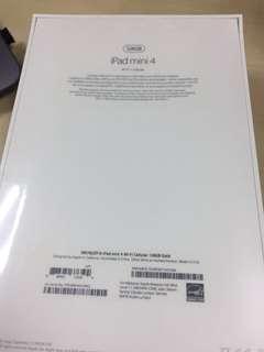 [BN] iPad Mini4 + Cellular Space Grey Warranty till Nov 2018