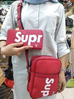 supreme bag and wallet premium quality