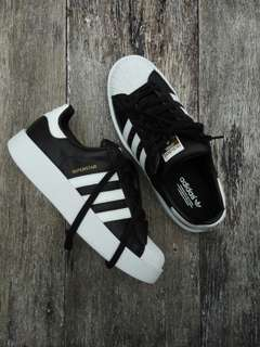 Aunthentic adidas superstar double sole