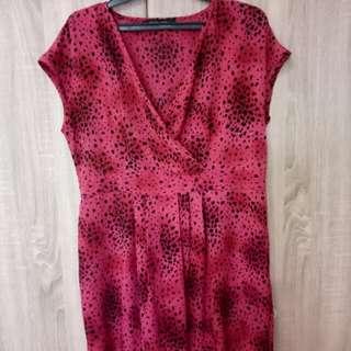 Dress seksi merah
