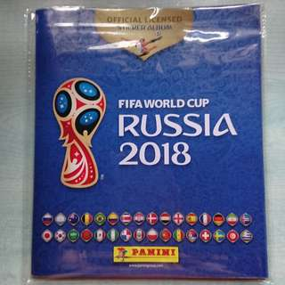 WTT: Panini Russia 2018 World Cup Stickers