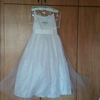 White flower girl dress. Tigerlily dress
