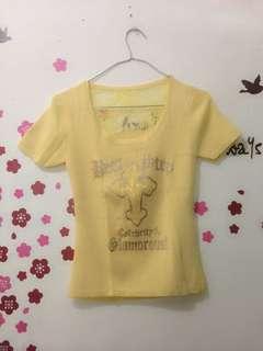 Yellow Brukat