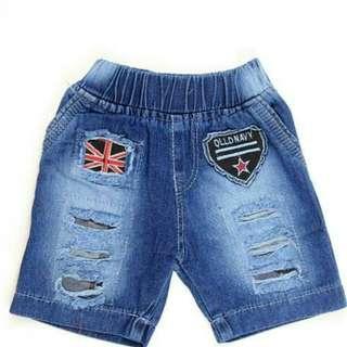 Celana short RIB jeans kids