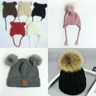 Toddlers Winter Beanies!