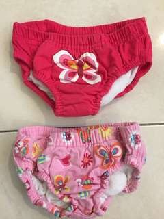 MOTHERCARE GIRLS PADDED SWIM PANTS