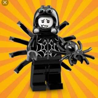 Lego Minifigures series 18 spider suit boy