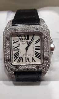 Cartier Santos 100 Midsize.