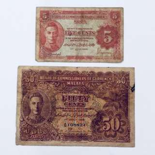 Old Malaya Notes