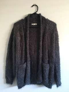 MOOLOOLA Grey Cardigan Sweater