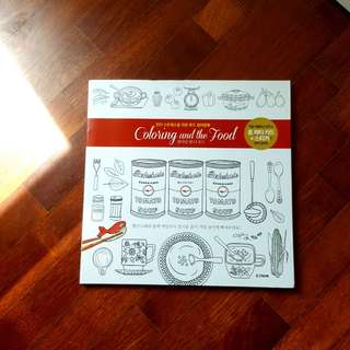Korean colouring book