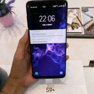 Samsung S9+, bisa cicilan tanpa CC, proses hanya 3 menit aja