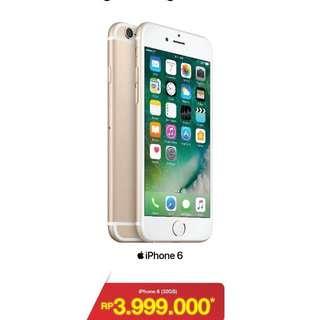 Apple Iphone 6 32GB, Harga murah garansi resmi