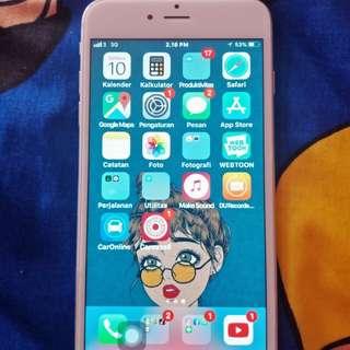 Iphone 6+ 16gb, muluss, aksesoris ORI