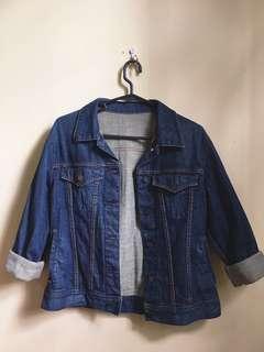 Oversized Uniqlo Denim Jacket