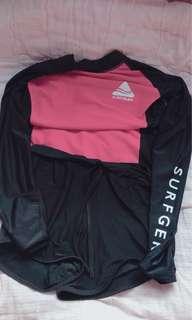 Surfgear Rashguard w/ shorts