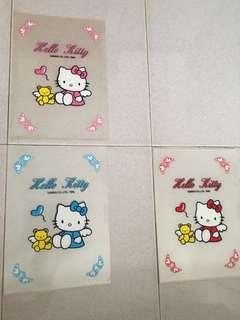 Hello kitty clear files