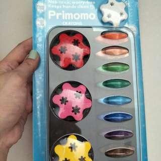Primomo crayons