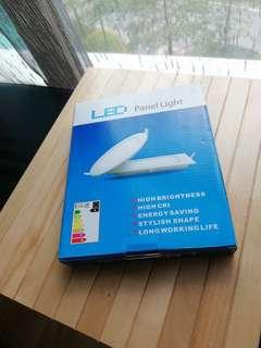 LED round panel lights - 9w