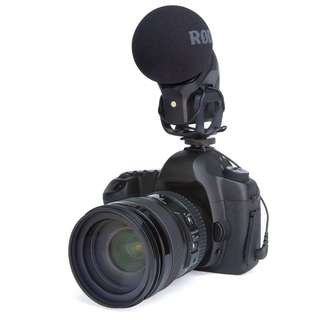 🚚 RODE Stereo VideoMic Pro Rycote Microphone for DSLR, Mirrorless or Video Camera