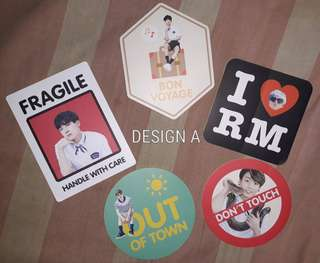 BTS Summer Package 2015 Official Stickers