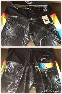 Original Billabong board shorts with tag size 32